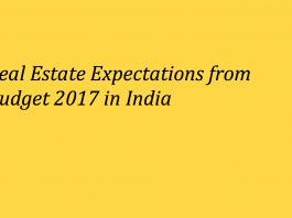 High Expectations from Budget in Real Estate in February 2017